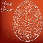 picture of pasqua  - Filigree Egg  - JPG