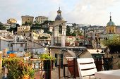 pic of genova  - Beautiful view of roofs of Genova - JPG