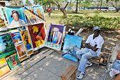 Artistic stuff for sale in Havana