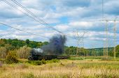Steam Train Passing