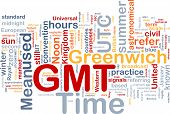 Gmt Time Background Concept