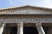 Pantheon In Rome.