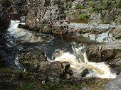 Rapids on Welsh river, UK