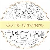 go to kitchen