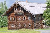 Karelian house in Kizhi, Russia