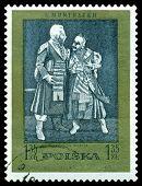 Vintage  Postage Stamp. Verbum Mobile.