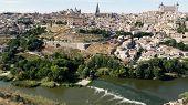 Medieval Spain - Toledo. City Skyline
