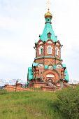 St. Nicholas Church, a monument in Krasnoyarsk