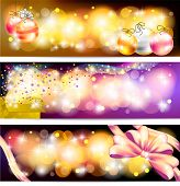 Colorful Celebration And Sales Ornament Banner Background, Create By Vector
