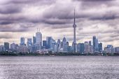 Toronto on a cloudy day