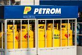 Petrom Gas Tanks