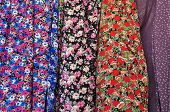 Floral Pattern Textile