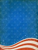 Textured patriotic background.
