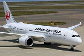 Japan Airlines Boeing 787 Dreamliner Nagoya Airport