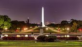 The Mall Monument Us Grant Memorial Evening Stars Washington Dc