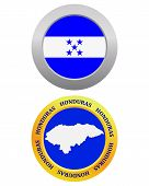 Button As A Symbol  Honduras