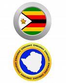 Button As A Symbol  Zimbabwe