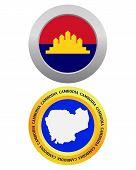 Button As A Symbol Cambodia