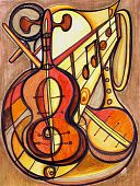 Artistic Musical Instruments