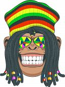 pic of dreadlock  - Vector illustration - JPG