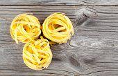 Italian Pasta Fettuccine Nest