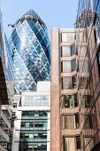 The Gherkin Tower In The City Of London