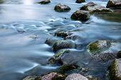 Rocks in small stream