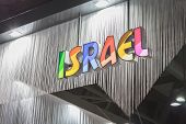 Detail Of Israel Stand At Bit 2015, International Tourism Exchange In Milan, Italy