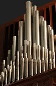 image of pipe organ  - pipe organ pipes - JPG