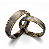 Rings - Pair - Wings - Love - Forever - Jewelry