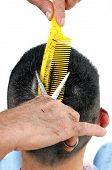 Cut Hair Man.