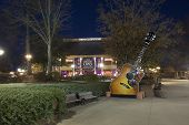 NASHVILLE, TENNESSEE-FEBRUARY 4, 2015:  The Grand Ole Opry is a landmark in Nashville, Tennessee that beckons country music fans from around the world.