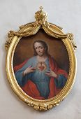 GRAZ, AUSTRIA - JANUARY 10, 2015: Sacred Heart of Jesus, Franciscan Church in Graz, Styria, Austria on January 10, 2015.