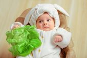 stock photo of cute innocent  - That is how babies are born - JPG