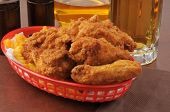 Basket Of Fried Chicken