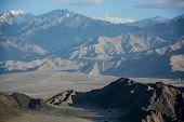 Karakorum Range Landscape In Summer