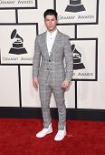 LOS ANGELES - FEB 08:  Nick Jonas arrives to the Grammy Awards 2015  on February 8, 2015 in Los Angeles, CA
