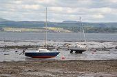 Scotland an June 06, 2012: Low tide