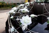 Car decked wedding
