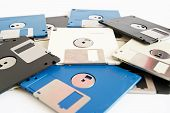 pic of outdated  - floppy disk - JPG