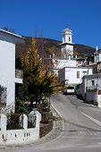 Village buildings, Pitres.