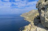 The Black Sea Coast Of Crimea