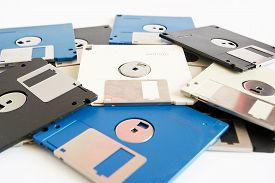 picture of outdated  - floppy disk - JPG