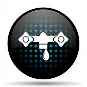 pic of hydraulics  - water icon hydraulics sign