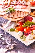 stock photo of catering service  - catering food - JPG