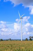 pic of generator  - Wind turbine power generator  - JPG