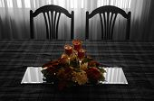 Table Setting Bw