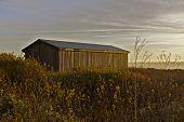 Coastal Barn Sunset