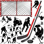 hockey vector 2