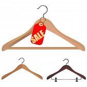 hanger winkelen concept